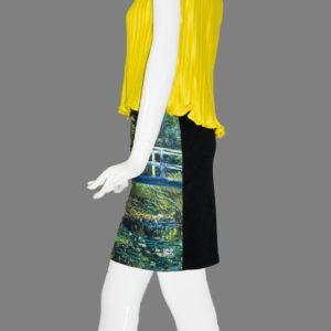 "Skirt ""Japanese bridge""Claude Monet (1899)"