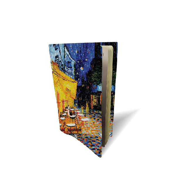 "Funda de pasaporte "" Café d'arles"" Van Gogh (1888)"