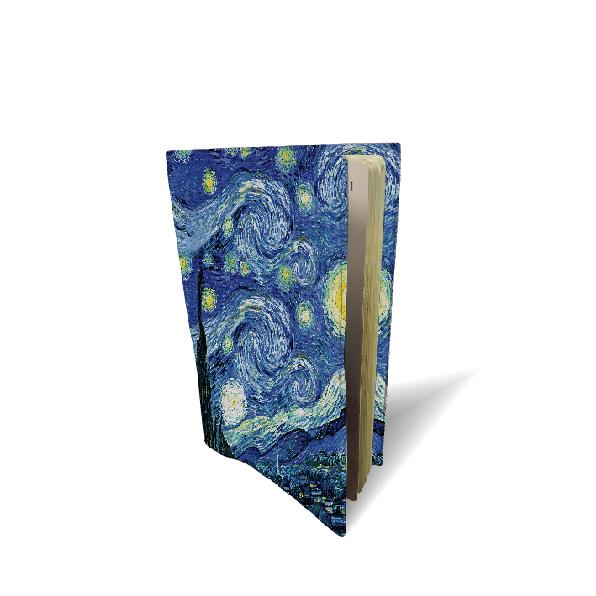 """Funda de pasaporte de  """"La noche estrellada"""" Van Gogh (1889)"""