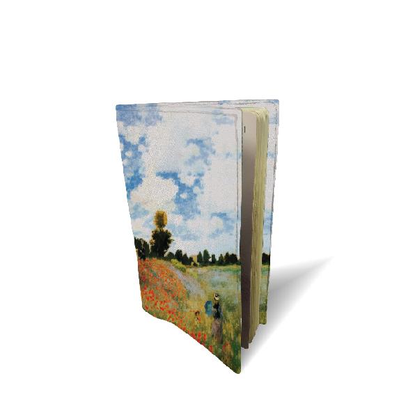 "Funda de pasaporte "" Las Amapolas"" Claude Monet (1873)"