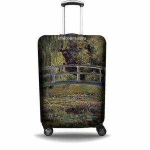"""Protector de maleta """"Puente Japonés"""" Claude Monet (1899)"""