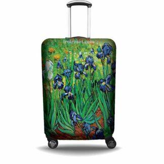 """Protector de maleta """"Los Lirios de Van Gogh"""""""