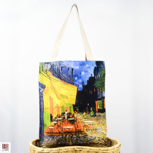 "Bolso de tela ""Café d'Arles"" Van Gogh"