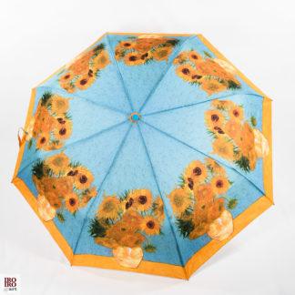 Paraguas plegable Los girasoles de Van gogh