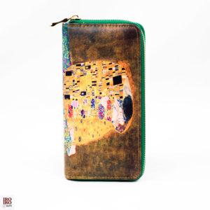 """Cartera """"El Beso"""" Gustav Klimt"""