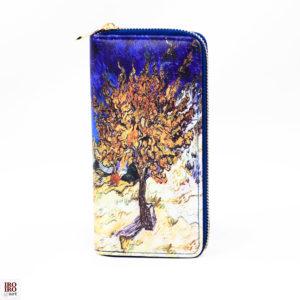 """Cartera """"El árbol de la morera"""" Van Gogh"""