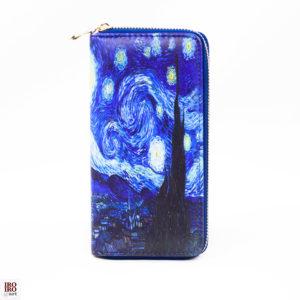 """Cartera """"Noche estrellada"""" Van Gogh"""
