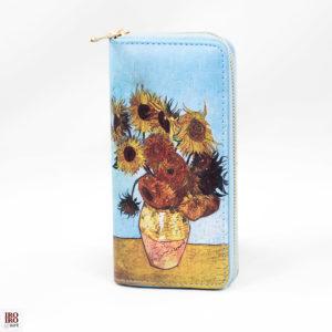 """Cartera """"Los Girasoles"""" Van Gogh"""
