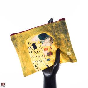 """Bolsita """"El Beso"""" Gustav Klimt"""