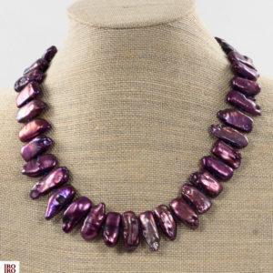 Collar de perlas moradas 01 iroiroart.com