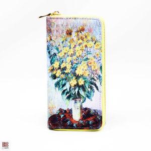 Cartera Flores amarillas