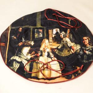 """Joyero de viaje """"Las Meninas"""" Velázquez"""