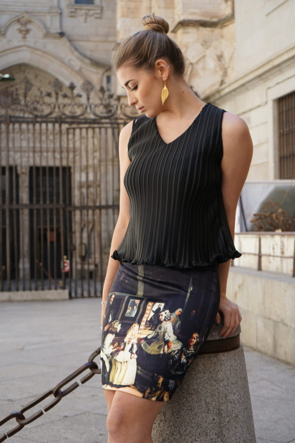 Falda Las Meninas 01 iroiroart.com