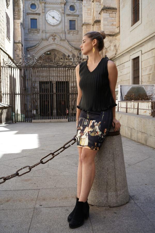 Falda Las Meninas 02 iroiroart.com