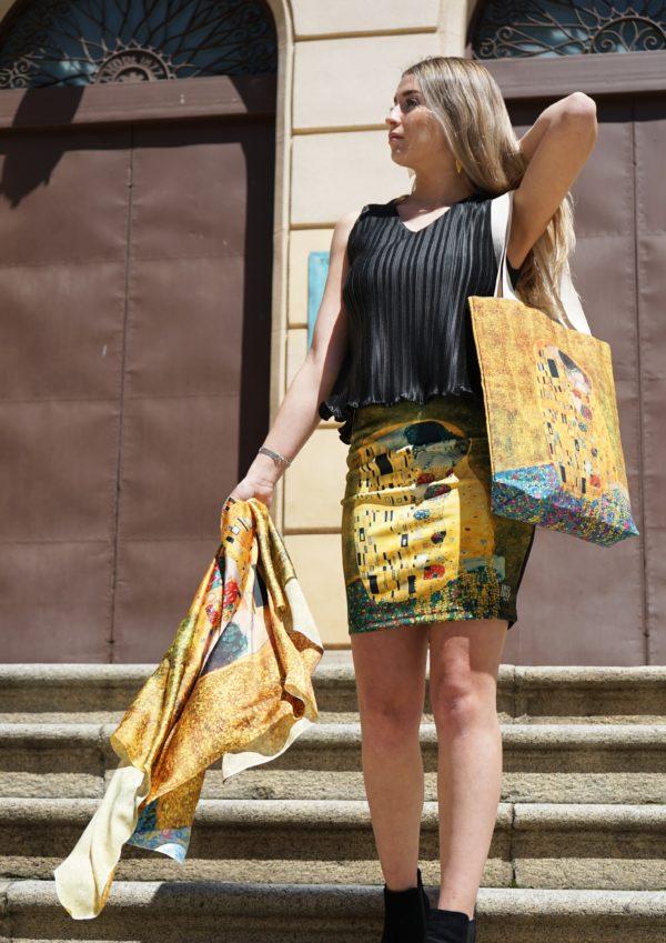 Falda El Beso de Klimt 03 Iroiroart.com